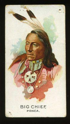 N2 Allen Ginter Indian Chiefs Big Chief | eBay