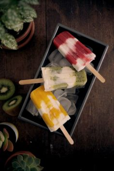 Celebrate summer with this delicious, whole food vegan ice-creams made from creamy coconut yoghurt and fresh seasonal fruits Roasted Capsicum, Roasted Fennel, Roasted Salmon, Roast Pumpkin Salad, Chicken Mushroom Pasta, Quinoa Bars, Quick Pickled Onions