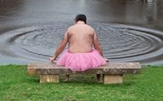 Bob decided to start taking pictures of himself in nothing but a frilly pink tutu, just to make his wife, who has cancer, smile. Linda would show her friends (some of whom also have the disease), and they would share laughs over Bob's quirky photos. His sense of humor has given Linda a new sense of strength and joy, proving that true love--does in fact conquer all…