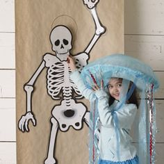 Joy check out these Creative Party Ideas by Cheryl: Halloween ideas - Love the skeleton scavenger hunt Halloween Trophies, Halloween Carnival, Halloween Birthday, Halloween Party Decor, Holidays Halloween, Spooky Halloween, Halloween Themes, Halloween Stuff, Birthday Stuff