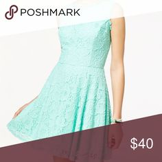 Turquoise Size 3 Lace Dress It is a beautiful turquoise City Studio dress. Although it is size 3, it fits sizes 0-3. It has only been worn once and is very comfortable. It is in great condition. City Studio Dresses Midi
