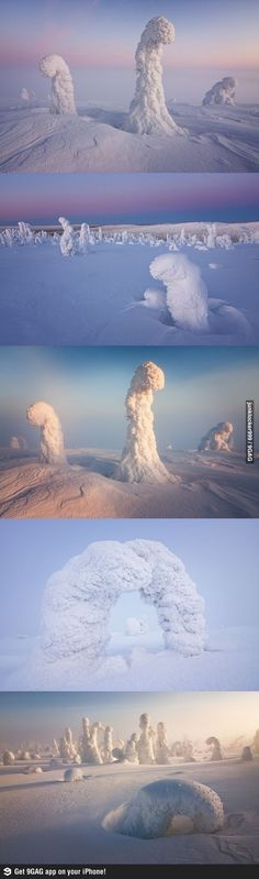 Alien Landscapes: Lapland, Finland would love to go there