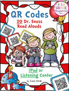 1st Grade Grapevine:  QR codes are an awesome way to get books in the hands of children.