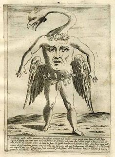 Monsters from all parts of the ancient and modern world, Giovanni Battista de'Cavalieri, 1585