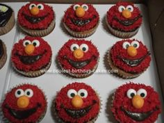 I think the Wilton grass tip is essential for Elmo, Cookie Monster, Murray Monster, Oscar the Grouch, etc.  You gotta have the furry-look captured!