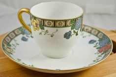 Superieur Limoges Tea Cup and Saucer