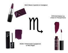 Best lipstick to wear according to your zodiac sing #scorpio #zodiac #zodiacsing #lipstick #makeup #zodiacmakeup