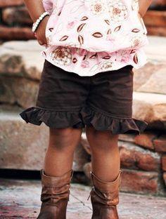 Layne's Ruffle Shorts