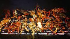 Tonight lobster party at caveman for Judy's farewell.  #flohjoe