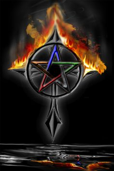 Wiccan Art | wiccan cross by dezertrat0010 digital art drawings other just another ...