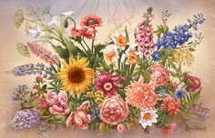 Просмотреть иллюстрацию Жизнь цветов из сообщества русскоязычных художников автора Ирина Винник в стилях: Книжная графика, нарисованная техниками: Компьютерная графика.
