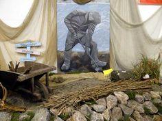 Afbeelding van de dijkwerker in Onderdijk.
