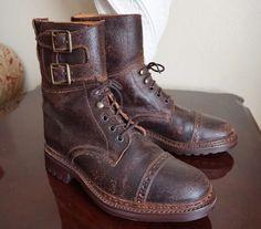 Crockett & Jones for Polo Ralph Lauren Jumper boots