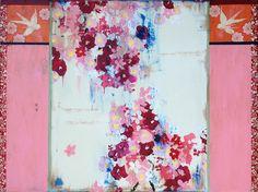 """""""A French Kimono and the Sweet Scent of Roses,"""" 36 x 48, (c) 2013 Kathe Fraga www.kathefraga.com"""