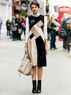 This Leila Yavari look is one of many that have led us to start MAJORLY fashion-crushing on the stylebop.com fashion director
