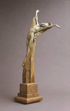 """""""Joy"""" Bronze h: 39 x w: 16 x d: 12 in #RichardMacDonald #Sculpture"""