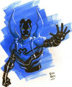 Blue Beetle by Rod Reis