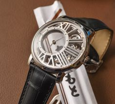 Cartier Rotonde De Cartier Mysterious Hour Skeleton Watch Hands-On