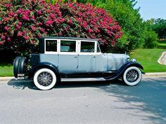 1925 Lincoln Judkins Custom 3-Window Berline | eBay Motors