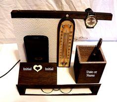 Porte IPhone Bois Idée Cadeau Mari Accueil por Personalizedbox