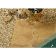 Rutland Paving Slabs, Mellow Stone Concrete Paving Slabs, Diy Fan, Natural Stones, Tile Floor, Patio, Construction, Home Decor, Building, Homemade Home Decor