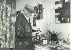 Image from http://www.townereastbourne.org.uk/wp-content/uploads/William-Gear_Working-in-Studio-at-Towner-Art-Gallery_Sept1962.jpg.