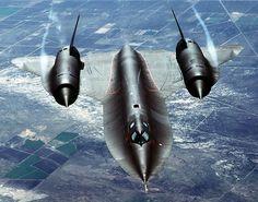SR-71 Black Bird Spy Plane