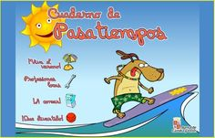Jugando y aprendiendo juntos: Cuaderno de pasatiempos para el verano de la Junta de Castilla y León