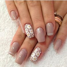 90 Best Spring Nails 2019 Ideas Fashion and Lifestyle Classy Nails, Stylish Nails, Trendy Nails, Cute Nails, Nail Manicure, Gel Nails, Acrylic Nails, Perfect Nails, Gorgeous Nails