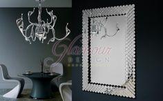 dizajnové Zrkadlo Claude - Glamour design