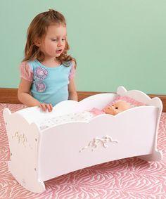 Pretty N' Pink Tiffany Bow Cradle For 20'' Doll