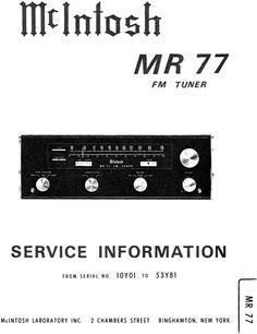 mcintosh ma 6300 original service manual mcintosh service rh pinterest com