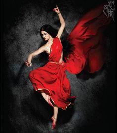 my-spirit's-aroma: Shakti Mohan Indian Women Painting, Indian Art Paintings, Indian Photoshoot, Indian Classical Dance, Dance Paintings, India Art, Ballet, Tutu, Dance Poses