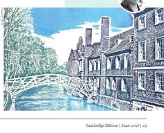 A collection of relief solarplate etchings based on the cities of Cambridge and Oxford. Cambridge Contemporary Art, Trinity St, Cambridge has the full collection of my Cambridge Walkabout range. Anglia Ruskin University, City Of Cambridge, Drypoint Etching, Book Stands, Walkabout, Blue Aesthetic, Printmaking, Book Art, City Photo