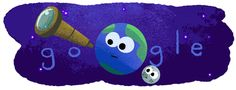 23 feb 2017 - Seven Earth-size Exoplanets Discovered! Turns out it wasn't just dust on the telescope lens: NASA just announced the discovery of. Google Doodles, Google Gif, Art Google, Google Board, Google Days, Nasa, New Earth, Gif Animé, Geek Stuff