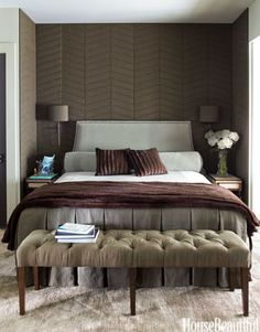 Bedroom Decorating Ideas - Pictures of Bedroom Design Ideas - House Beautiful