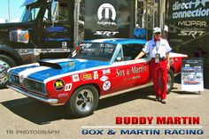 BUDDY MARTIN'S TRIBUTE TO HIS RACING PARTNER, RONNIE SOX.