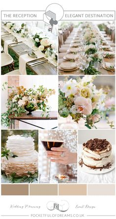 Bridal Inspiration Board #80 ~ Elegant Neutral Spring Shades | Love My Dress® UK Wedding Blog