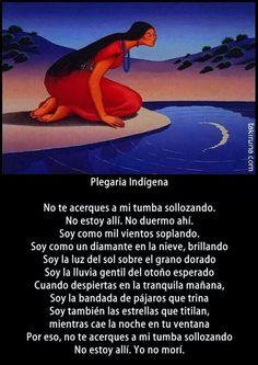 Plegaria indígenas
