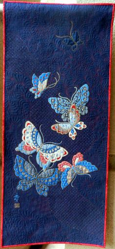 Jenny Lyon ~ Asian Butterfly Panel  Saw this in person today! It's beautiful!