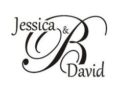 Wedding Monogram Stamp Custom Rubber For DIY Thank You Favor Tags And