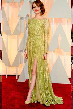 Emma Stone Oscar Fashion