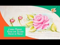passo a passo, rosa - YouTube