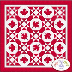 Canadian Maple - Throw Quilt Kit