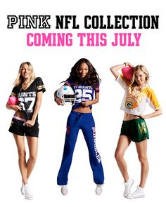 33b9e535c Victoria s Secret Pink® NFL Collection Nfl Shop