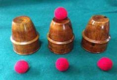 Rock #ridge cups and #balls #magic trick--western wood,  View more on the LINK: http://www.zeppy.io/product/gb/2/192041941939/