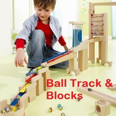 Building Blocks, Waldorf Wooden toys, Ball run Toys Canada