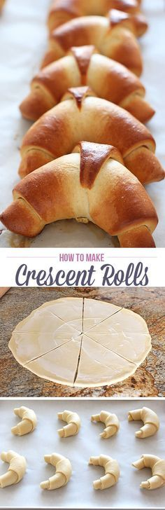 How to Make Crescent rolls from scratch with just a few simple ingredients. These babies are tender, buttery, and golden brown and pair with…