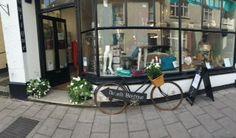 Danielli Dartmouth and the faithful bike! #danielli #dartmouthuk