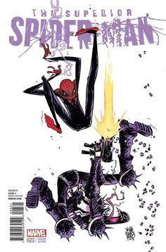 Skottie Young: Superior Spider-man 23 variant cover